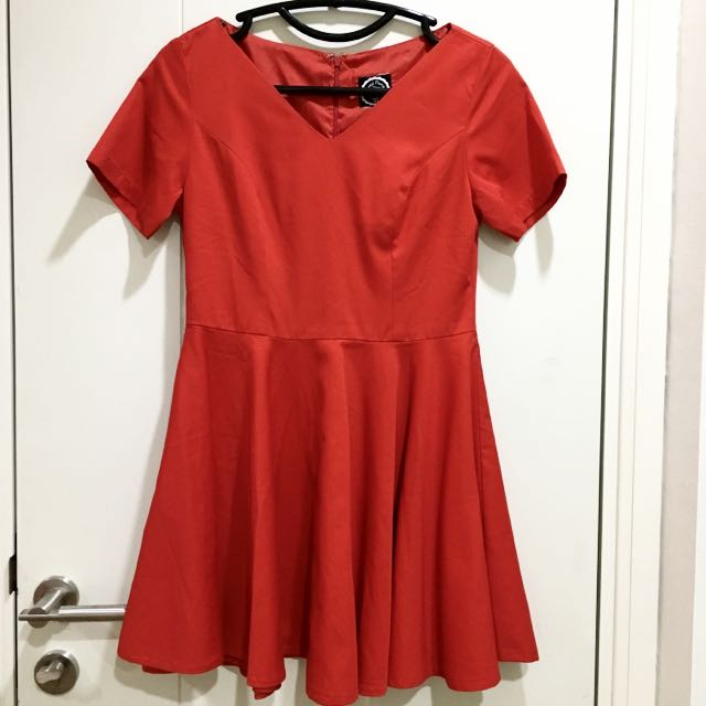 Sweet Peony Red Dress