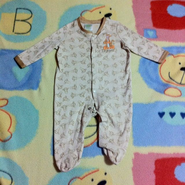 Tigger Disney Overall Suit
