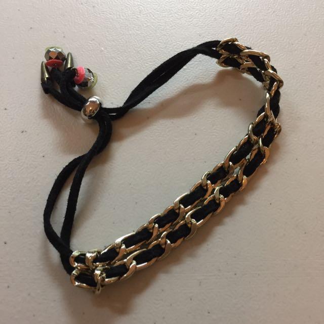TOPSHOP Black Bracelet