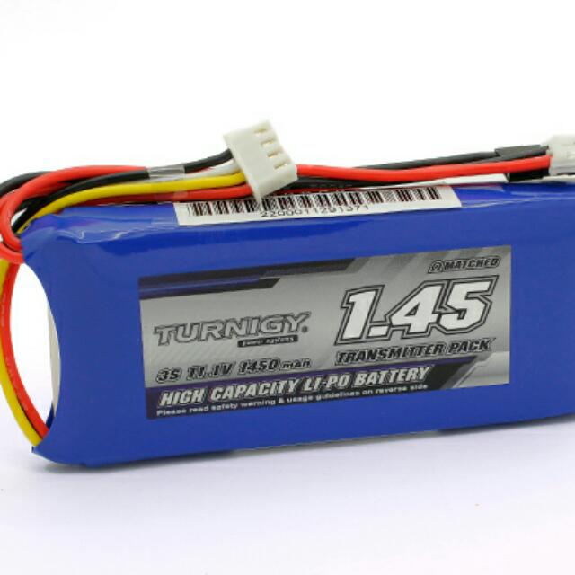 Turnigy 1450mah 3s 11.1v Transmitter Lipo