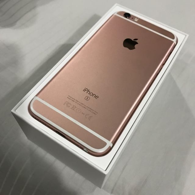 Warranty iphone 6s 128gb Rose Gold