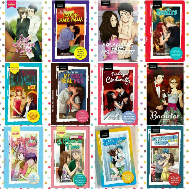 Wattpad Pop Fiction Books