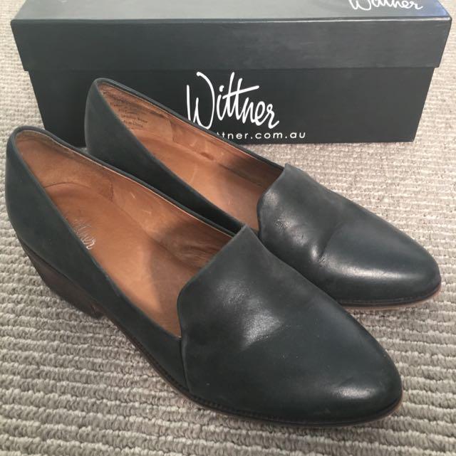 Wittner Black Loafers Size 35