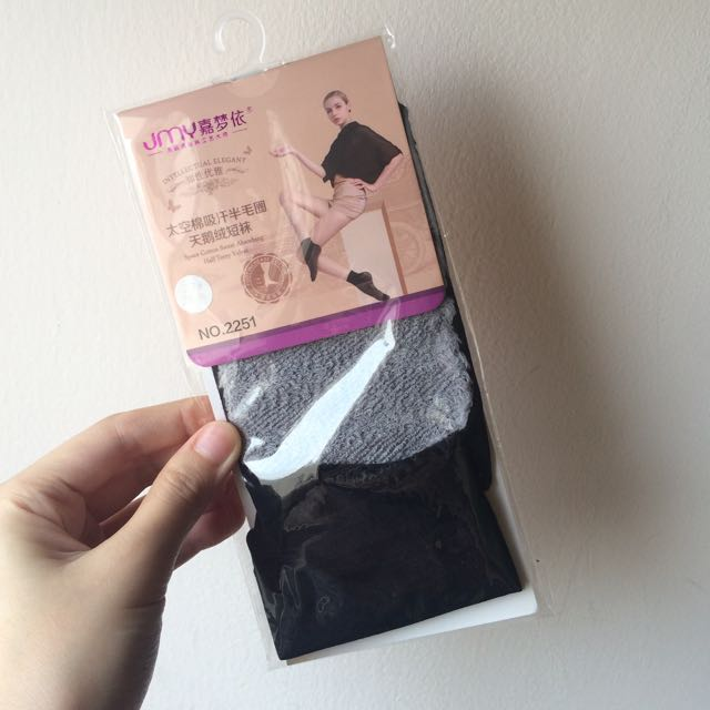 New Women Black Socks