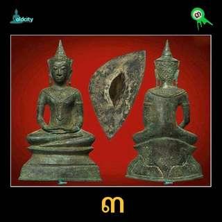 "10"" Ayuttaya Prah Chai (400yrs Old) For Rent"