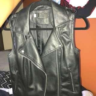 Mendocino Vegan Leather Vest