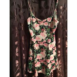 Mirrou Floral Dress