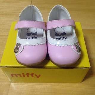 Miffy 米飛兔粉色娃娃鞋 13公分