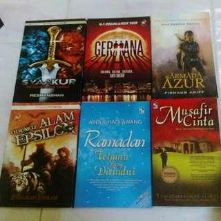 Free Postage-Malay Novel