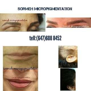 Permenant makeup,micropigmentation