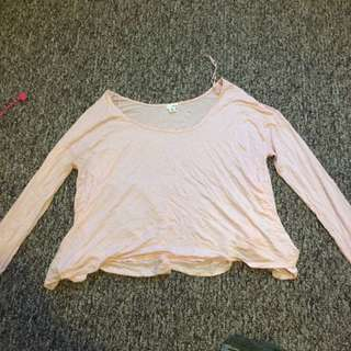 Garage light pink shirt