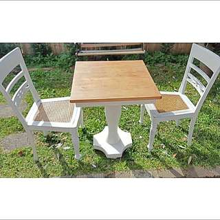Shabby Chic Beach Style Table And Chairs