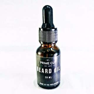 PRIME CUT Beard Oil 20mL