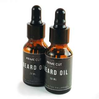 PRIME CUT Beard Oil 20mL  (Value Pack of TWO)