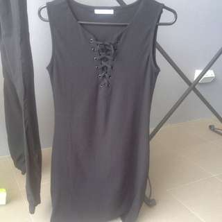 PARE - Basic Stretchy Dress Size m