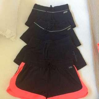 Lorna Jane And Running Bare Shorts
