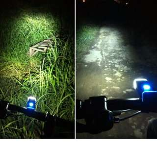MACHFALLY 5W LED IPX-4 WATERPROOF USB CHARGING 4 MODES Bike Light