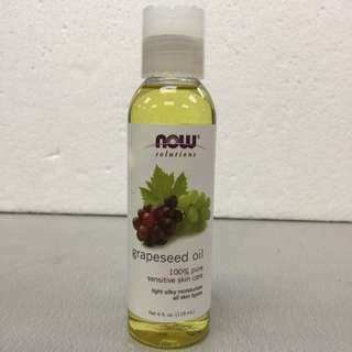 Now Solution Grapeseed Oil