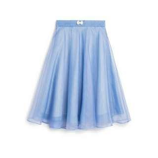 Pazzo 芭蕾 紗裙 粉藍 嬰兒藍 蝴蝶結
