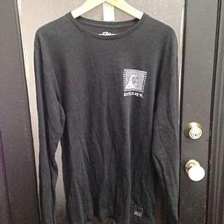 Long Sleeve Quicksilver Tee Large