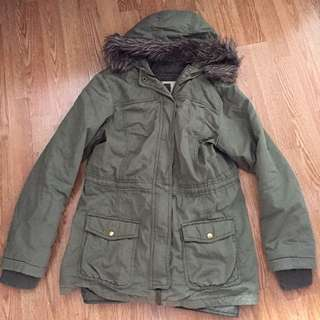 Olive Fall/Winter Army Jacket