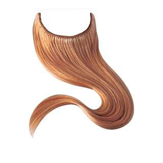 24″ European Remy Halo/Flip in hair extensions 110g
