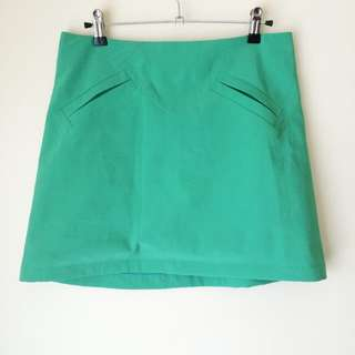 Valleygirl 'A Line Teal Skirt'