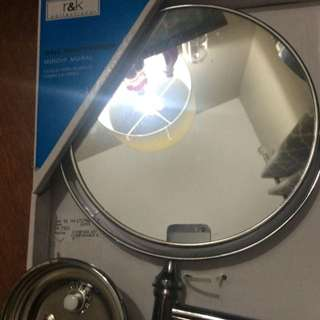 Extending Wall Mirror