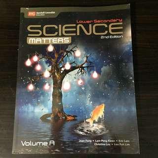 Lower Sec Science Matters Vol A