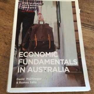 Economic Fundamentals In Australia Romeo Salla Year 12