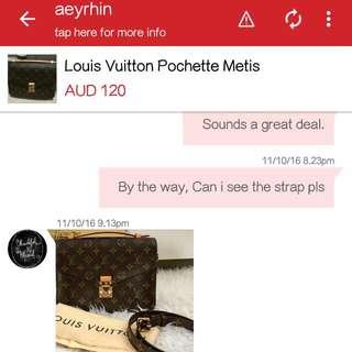 Bag Bought From Seller Aeryhin