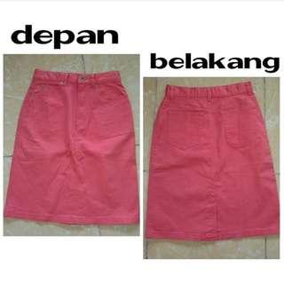 Skirt Pink Uniqlo