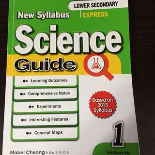 Lower Sec Science Guide