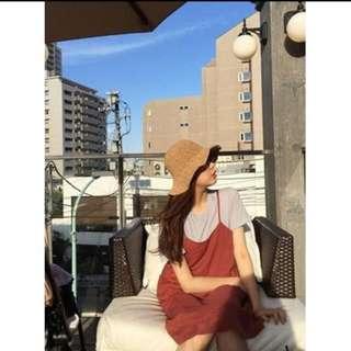 韓版 連衣裙 紅色 轉賣alexa_nd_love