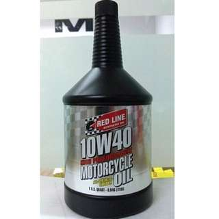 Redline High Performance Motorcycle Bike Oil 4T