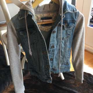 Muchacho Denim Hooded Jacket Size 6