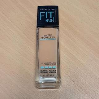 Maybelline Fit Me - 322 Warm Honey