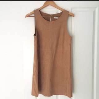 Suede Dress ON HOLD
