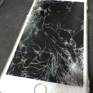 收螢幕破掉手機