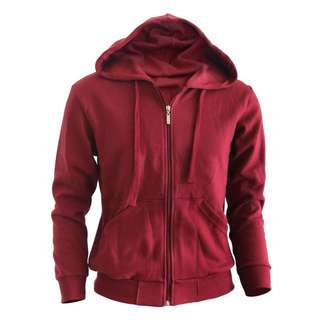 Maroon Thick Hoodie/Outerwear
