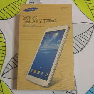 PRELOVED Samsung Galaxy Tab 3. Fully Working
