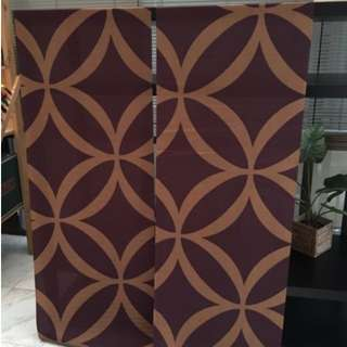 IKEA panel curtains - discontinued design / textile /blinds