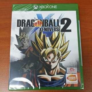 (Brand New) XBox One Dragonball Xenoverse 2