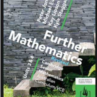 MATHS FURTHER TEXTBOOKS