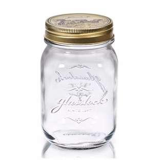 Glasslock韓國經典玻璃密封罐1000ml 沙拉罐 梅森瓶 手工果醬瓶 咖啡豆罐 筆筒 玻璃杯 調味罐