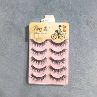 5 Pack False Eyelashes