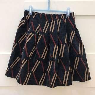 新二手-絨布材質褲裙