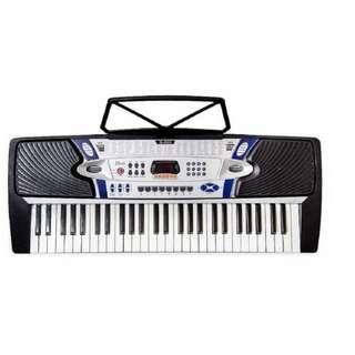 DAVIS D-205 Electronic Keyboard (Black)