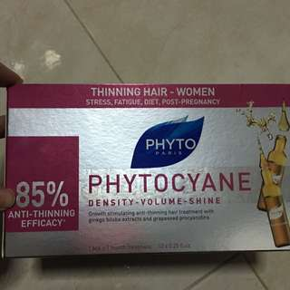 BNIB Phytocyane Hair loss Treatment Serum Ampoules