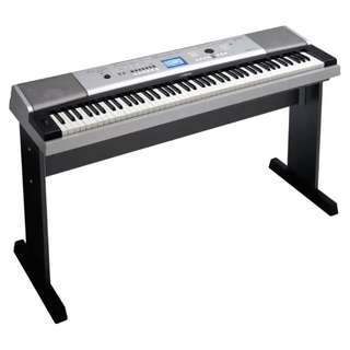 Yamaha DGX 530 Portable Keyboard (Silver)